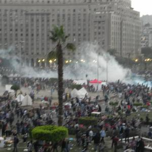 Images captured Sunday 11/20/11 in Tahrir Square. Courtesy of Karen Jacob.