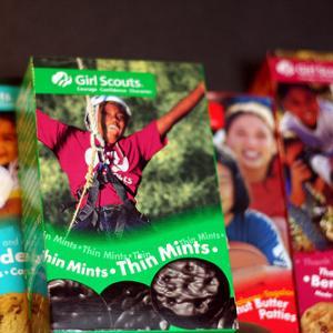 Girl Scout cookies. Image via Wylio http://bit.ly/zwXfFU