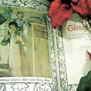 "Illustration of Dickens' ""Christmas Carol."" Photo by Tim King."
