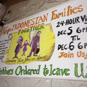 Keep Indonesian Families Together, photo via Reformed Church of Highland Park
