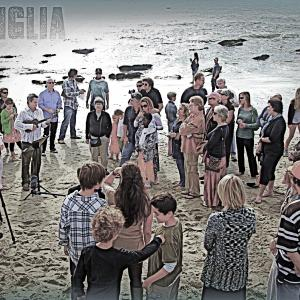 """""""Mi Famiglia."""" The author's family gathered for her son's baptism."""