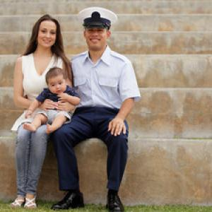 A military family. Image courtesy Odyssey Networks.