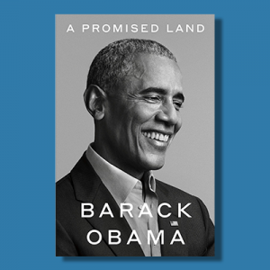 The cover of Barack Obama's new memoir, A Promised Land.