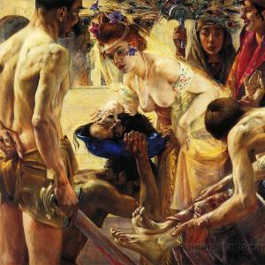 """Salome, Second Version"" by the German painter Lovis Corinth (1858-1925)"