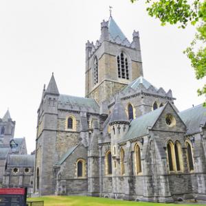 St. Patrick's Cathedral in Dublin, Ireland. jordache / Shutterstock.com