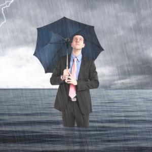 Business man underwater, Minerva Studio / Shutterstock.com