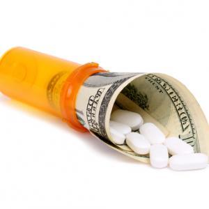 High cost of prescriptions illustration, bestv / Shutterstock.com
