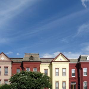 Washington, D.C., rowhouses, Kim Seidl / Shutterstock.com