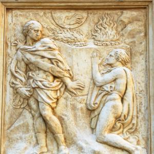 Cain and Abel depiction, claudio zaccherini / Shutterstock.com