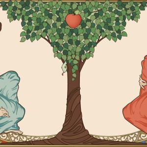 Adam and Eve, Drakonova / Shutterstock.com