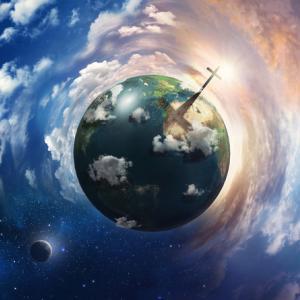 Cross shadow on earth, Cardens Design / Shutterstock.com