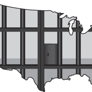 Mass incarceration illustration, Linda Bucklin/ Shutterstock.com