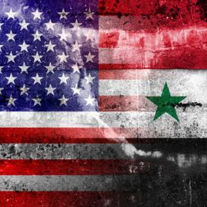 U.S. and Syrian flags, PromesaArtStudio / Shutterstock.com