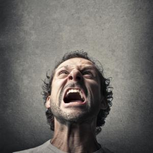 Man screaming, ollyy / Shutterstock.com
