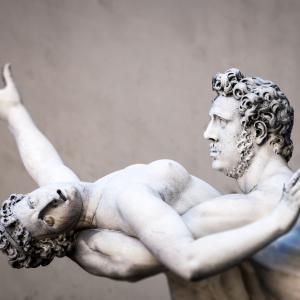 The rape of the Sabine women, Florence Italy. Image courtesy Markus Gann/shutter