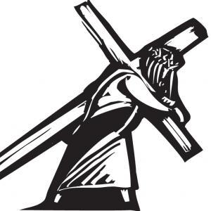 Jesus bearing the cross, Jef Thompson / Shutterstock.com