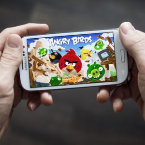 Angry Birds app, Twin Design / Shutterstock.com