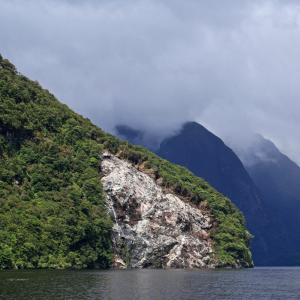 View from Doubtful Sound in New Zealand, Harrison B / Shutterstock.com