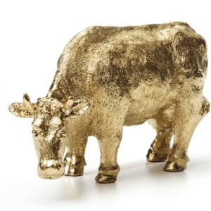 A golden calf. Image courtesy In Tune/shutterstock.com