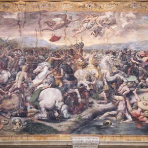 Tapestry, 'Battle of Constantine.' Image courtesy Aleks49/shutterstock.com