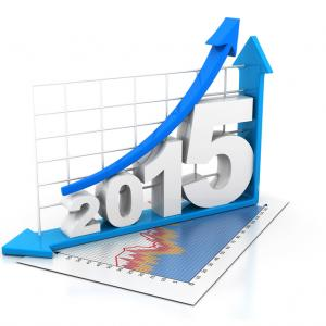 2015 growth graph. Image courtesy bluebay/shutterstock.com