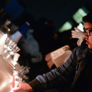 Nov. 24 vigil in Toronto, Canada. Nisarg Lakhmani / Shutterstock.com