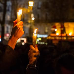 Protest in Paris following the Charlie Hebdo attack, Anky / Shutterstock.com