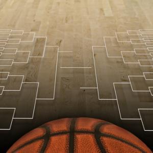 NCAA tournament bracket illustration,  Brocreative / Shutterstock.com