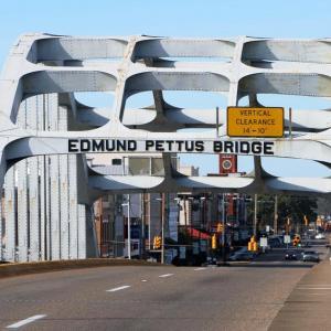 Edmund Pettus Bridge in Selma, Ala.