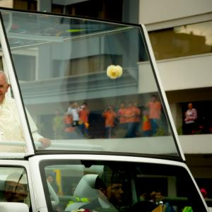 Pope Francis in Quito, Ecuador