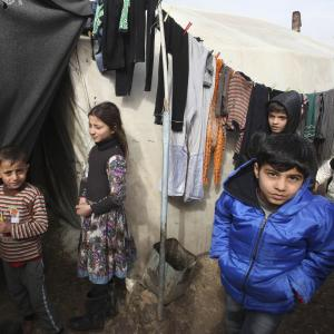 n refugees from Aleppo