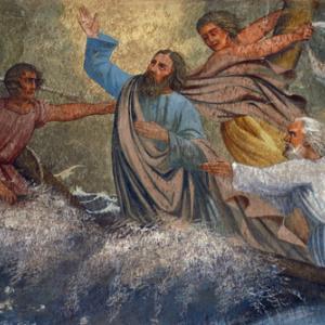 Jesus calming the storm, Zvonimir Atletic / Shutterstock.com