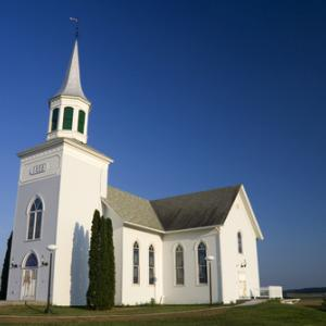 White church building,  Stuart Monk/ Shutterstock.com