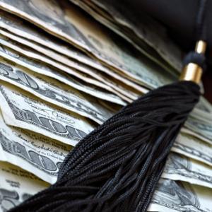 Student loan debt illustration, Marie C Fields / Shutterstock.com