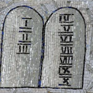 Ten Commandments Mosaic. Image via Zvonimir Atletic / Shutterstock