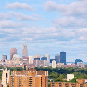 Cleveland skyline, Kenneth Sponsler, Shutterstock.com