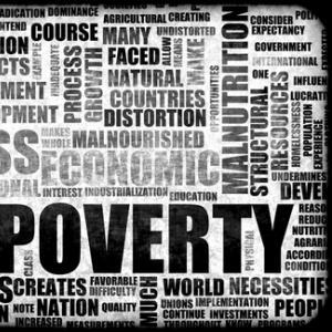 Poverty background, kentoh / Shutterstock.com