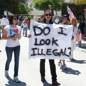 2010 protest in Los Angeles, Juan Camilo Bernal / Shutterstock.com