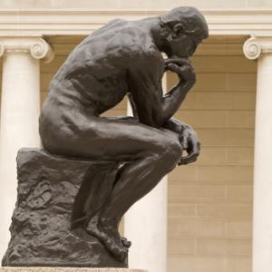 Rodin's thinker, Rafael Ramirez Lee / Shutterstock.com