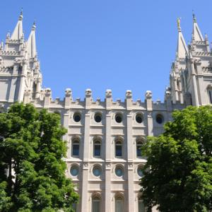 Mormon temple in Salt Lake City, Gary Whitton / Shutterstock.com