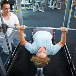 Gym image by Robert Kneschke / Shutterstock