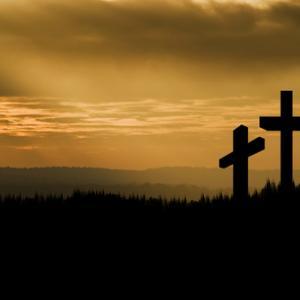 Crucifixion image,  Matt Gibson/ Shutterstock.com