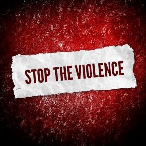 Stop the violence illustration, background Eky Studio / Shutterstock.com