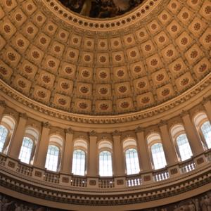 Dome inside the U.S. Capitol Building, gary718 / Shutterstock.com