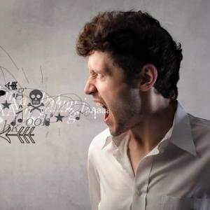 Photo: Angry man screaming, olly / Shutterstock.com