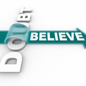 Faith and doubt,  iQoncept / Shutterstock.com