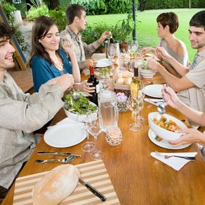 Group meal photo, AISPIX by Image Source, Shutterstock.com