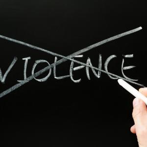 No violence photo, bbbar, Shutterstock.com