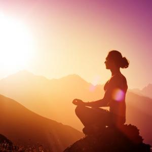 Morning meditation, Vinogradov Illya / Shutterstock.com