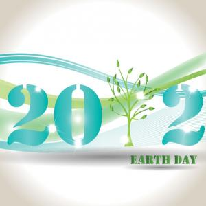 Earth Day logo, justaa / Shutterstock.com